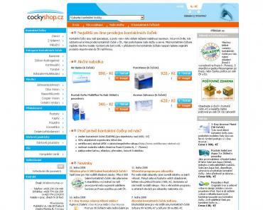 Cockyshop.cz - kontaktní čočky online